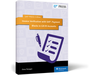 Cover von Invoice Verification with SAP: Payment Blocks in GR/IR Accounts
