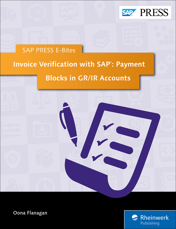 Invoice Verification with SAP: Payment Blocks in GR/IR Accounts