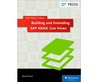 Cover von Building and Extending SAP HANA Live Views