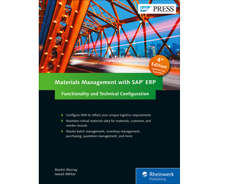 Cover of Materials Management with SAP ERP: Functionality and Technical Configuration
