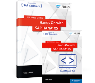 Cover von Hands On with SAP HANA XS