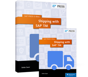 Cover von Shipping with SAP TM