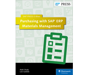 Cover von Purchasing with SAP ERP Materials Management