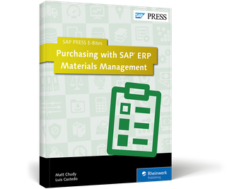 Cover of Purchasing with SAP ERP Materials Management