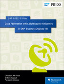 Cover of Data Federation with Multisource Universes in SAP BusinessObjects BI