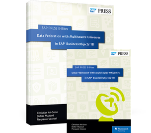 Cover von Data Federation with Multisource Universes in SAP BusinessObjects BI
