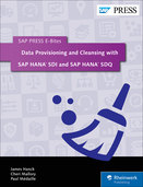 Cover of Data Provisioning and Cleansing with SAP HANA SDI and SAP HANA SDQ