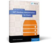 Cover of SAP Database Administration for Oracle
