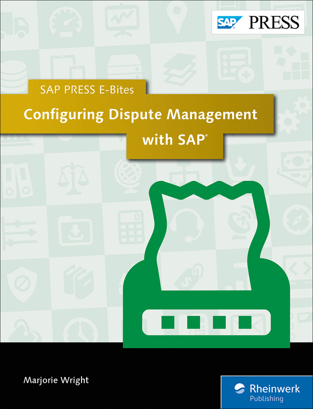 Configuring Dispute Management with SAP
