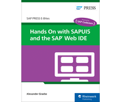 Cover of Hands On with SAPUI5 and the SAP Web IDE