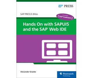 Cover von Hands On with SAPUI5 and the SAP Web IDE