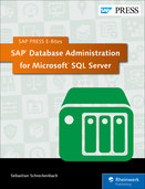 Cover von SAP Database Administration for Microsoft SQL Server