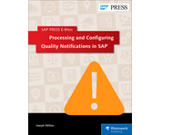 Cover of Processing and Configuring Quality Notifications in SAP