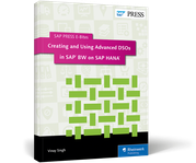 Cover of Creating and Using Advanced DSOs in SAP BW on SAP HANA