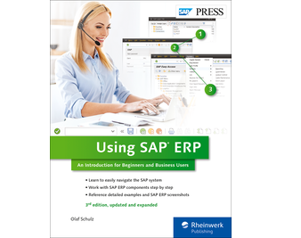 Cover von Using SAP ERP