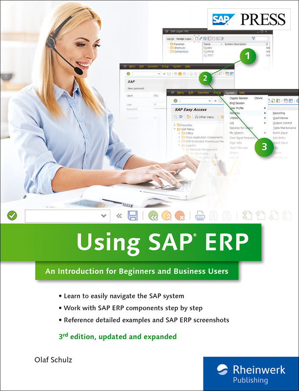 Using SAP - An Introduction for Beginners and Business Users