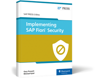 Cover von Implementing SAP Fiori Security