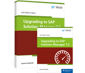 Cover von Upgrading to SAP Solution Manager 7.2