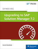 Cover of Upgrading to SAP Solution Manager 7.2