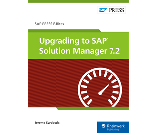 ... Cover of Upgrading to SAP Solution Manager 7.2