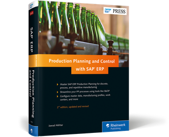 Cover von Production Planning and Control with SAP ERP