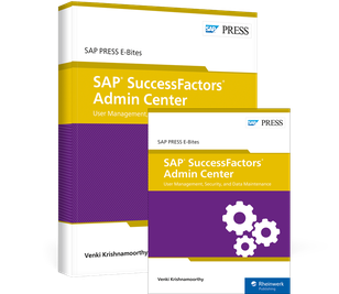 Cover von SAP SuccessFactors Admin Center: User Management, Security, and Data Maintenance
