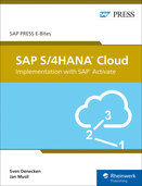 Cover of SAP S/4HANA Cloud: Implementation with SAP Activate