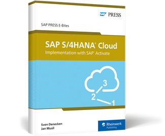 Cover von SAP S/4HANA Cloud: Implementation with SAP Activate
