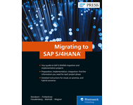 Cover von Migrating to SAP S/4HANA