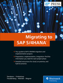 Cover von Migrating to SAP S/4 HANA