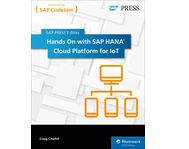 Cover von Hands On with SAP HANA Cloud Platform for IoT