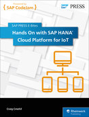 Cover of Hands On with SAP HANA Cloud Platform for IoT