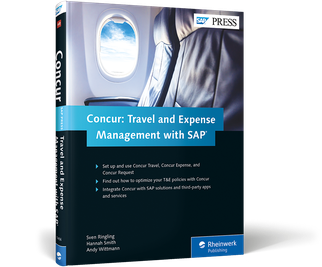 Cover of Concur: Travel and Expense Management with SAP