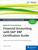 Cover of Financial Accounting with SAP ERP Certification Guide