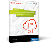 Cover of Hands On with SAP HANA Cloud Platform Mobile Services (SAP HCPms)