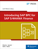 Cover of Introducing SAP BPC for SAP S/4HANA Finance