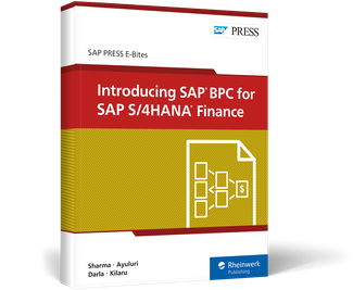 Cover of Introducing SAP BPC for SAP S/4HANA Finance