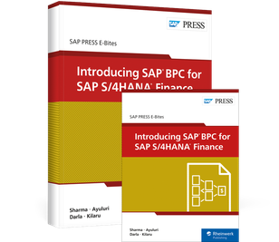 Cover von Introducing SAP BPC for SAP S/4HANA Finance