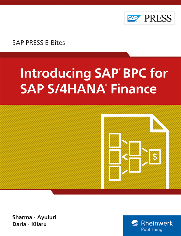 Introducing SAP BPC for SAP S/4HANA Finance