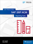 Cover von SAP ERP HCM: Reporting Tools
