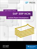 Cover of SAP ERP HCM: Custom Report Development