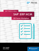 Cover of SAP ERP HCM: HR Forms Workplace