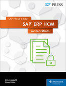 Cover of SAP ERP HCM: Authorizations