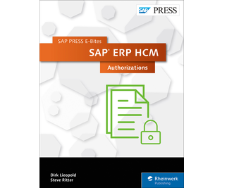Cover von SAP ERP HCM: Authorizations