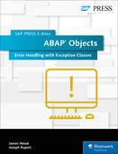 Cover of ABAP Objects: Error Handling with Exception Classes