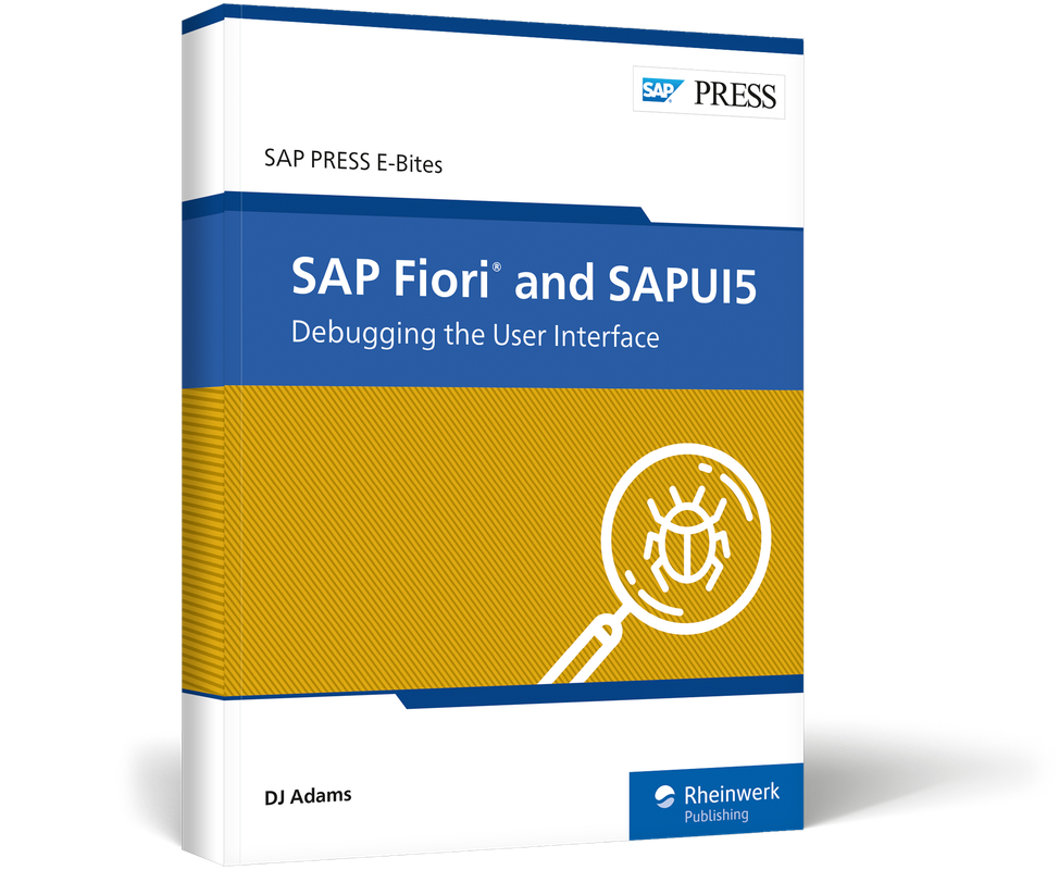 SAP Fiori and SAPUI5: Debugging the User Interface