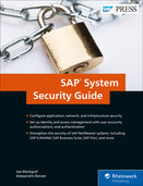 Cover of SAP System Security Guide