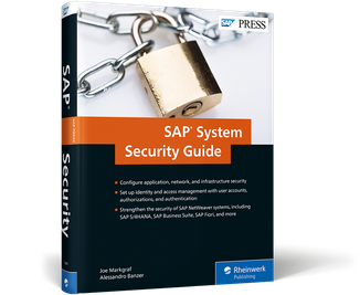 Cover von SAP System Security Guide