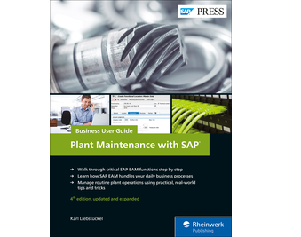 Cover von Plant Maintenance with SAP: Business User Guide