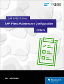 Cover of SAP Plant Maintenance Configuration: Orders